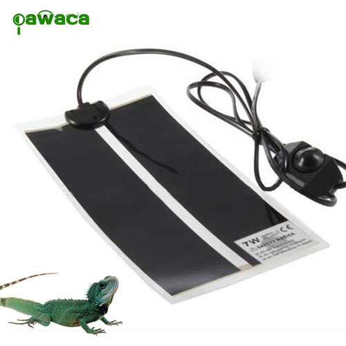 Portable Reptile Heat Mat with Adjustable Temperature Controller Heating Warmer Pet Bed for Turtle - petsprive.com