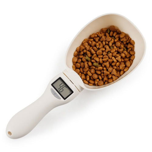 800g/1g Pet Food Scale Cup For Dog Cat Feeding Bowl Kitchen Scale Spoon Measuring Scoop Cup - petsprive.com