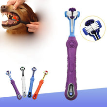 Load image into Gallery viewer, 1 Pcs Pet Dog Toothbrush Multi-angle Cleaning Tooth Bad Breath Tartar Teeth Care Tool Brush for Dog Cat Protection Health Suppli - petsprive.com