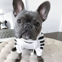 Load image into Gallery viewer, French Bulldog Clothes Dog Hoodie Adidog Warm Sport Retro Dog Hoodies Pet Clothes Puppy Dog Pugs Puppy - petsprive.com
