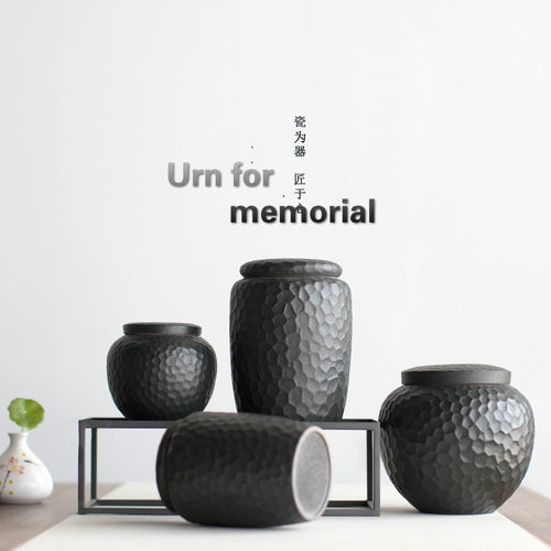 Pet urn Funeral Urn Cremation Urns For human ashes Small Pet DOG CAT for Burial Urns At Home Or In Niche At Columbarium - petsprive.com