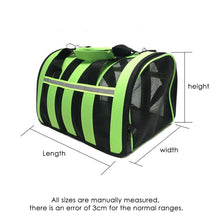 Load image into Gallery viewer, Dual-use Folding Breathable Mesh Cat&Dog Bag Outgoing Portable Transparent Breathable Bag Pet Carry Case Pet Supplies 4 - petsprive.com