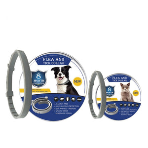 8 Month Flea & Tick Prevention Collar for Cats dog Mosquitoes Repellent Collar Insect Mosquitoes - petsprive.com