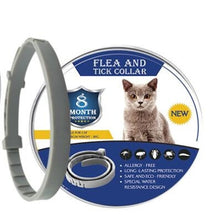 Load image into Gallery viewer, 8 Month Flea & Tick Prevention Collar for Cats dog Mosquitoes Repellent Collar Insect Mosquitoes - petsprive.com
