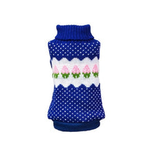 Load image into Gallery viewer, 15 Colors Winter Dog Coat Clothes Warm Soft knitting Pet Dog Vest Sweater For Small Medium Dogs Classic Pattern - petsprive.com
