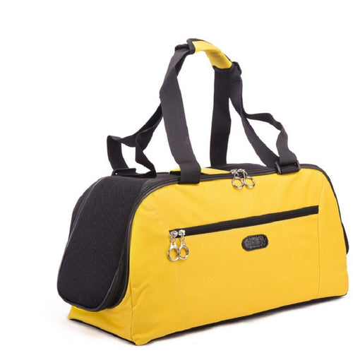 Pet Dog Cat Carrier Bag Size S/L For  Within 5KG Cat Or Small Puppy Dog Portable Travel Carrier Tote Bag Handbag - petsprive.com
