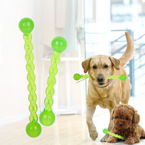 Dog Interactive Toy Pet Molar Stick Rubber Durable Teeth Clean Tool Large Size Dog Chew Toys For Small Dogs - petsprive.com