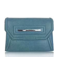 Claudette Portfolio Bag in Azure Blue