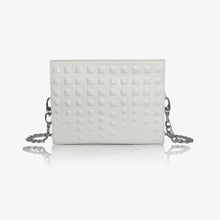 Napoli Clutch Bag in Ice