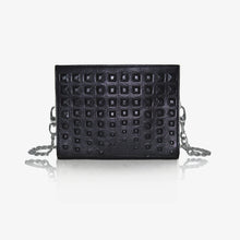 Napoli Clutch Bag in Black Onyx