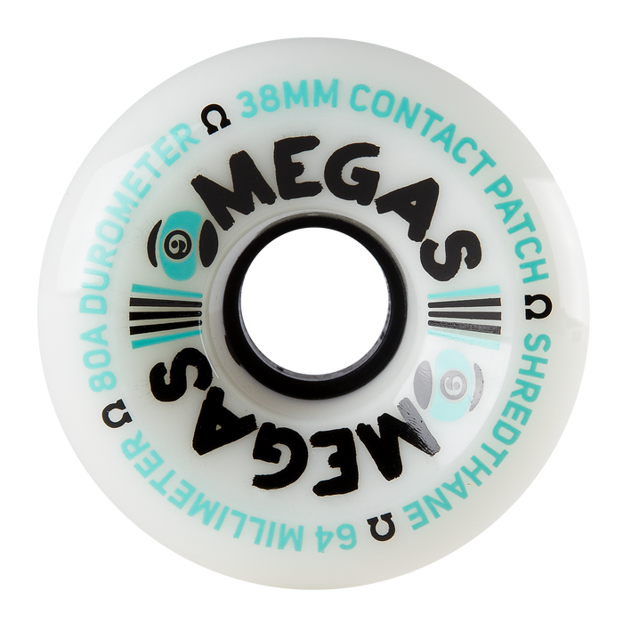 Sector 9 Omegas Longboard Slide Wheels (64mm/80A)
