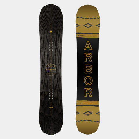 Arbor Element Black (Camber) Snowboard