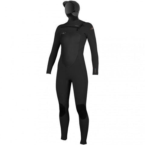 O'Neill Women's 5/4 Superfreak Hooded Wetsuit