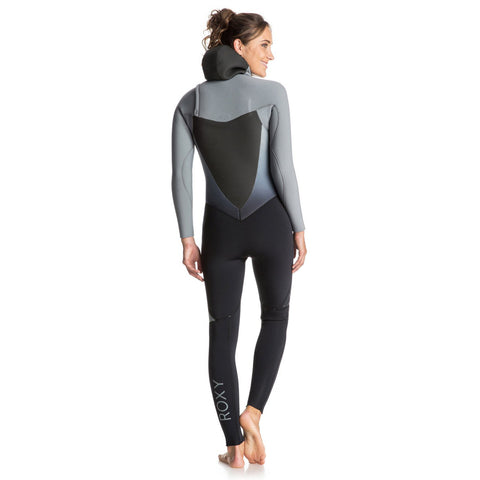 Roxy Syncro 5/4/3 Hooded Chest Zip Wetsuit