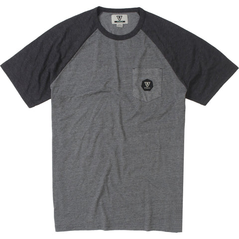 Vissla Pipes Short Sleeve Raglan