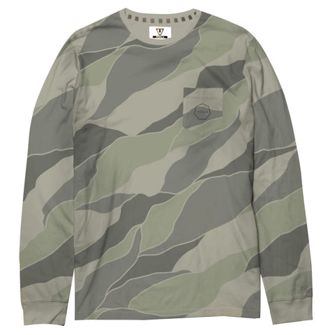 Vissla Wipe Out Camo Long Sleeve