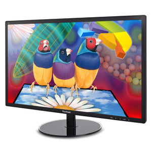 "Viewsonic Value VA2209 22"" LED LCD Monitor - 16:9 - 5 ms 1920 x 1080 - 16.7 Million Colors (8-bit) - 250 cd/m² - 20,000,000:1 - Full HD - DVI - VGA - 35 W - Black - ENERGY STAR, China Energy Label (CEL), RoHS, WEEE"
