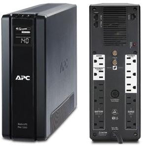 APC Back-UPS RS BR1300G 1300 VA Tower UPS 1300 VA/780 W - 120 V AC - 4 Minute - Tower - 4 Minute - 5 x NEMA 5-15R, 5 x NEMA 5-15R