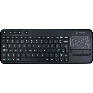 Logitech K400 Keyboard Wireless Connectivity - RF - USB Interface - French - TouchPad