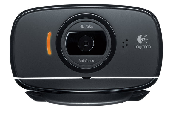Logitech C525 Webcam - USB 2.0 8 Megapixel Interpolated - 1280 x 720 Video - Auto-focus - Widescreen - Microphone
