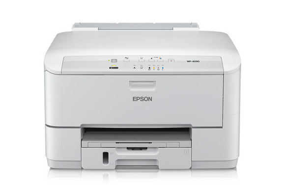 Epson WorkForce Pro WP-4090 Inkjet Printer - Color - 4800 x 1200 dpi Print - Plain Paper Print - Desktop 16 ppm Mono Print / 11 ppm Color Print (ISO) - 330 sheets Input - Automatic Duplex Print - Fast Ethernet - USB