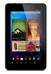 "Ematic EGQ307 8 GB Tablet - 7"" - Wireless LAN - 1.50 GHz - Black 1 GB RAM - Android 4.2 Jelly Bean - Slate - 1024 x 600 Multi-touch Screen Display"