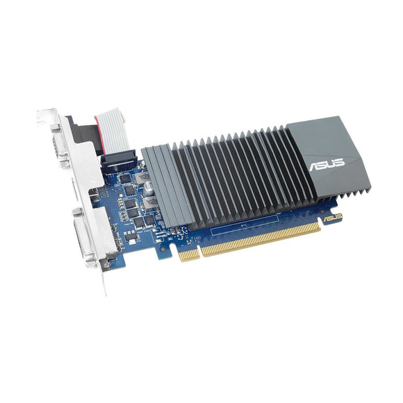 Asus GT710-SL-1GD5-BRK GeForce GT 710 Graphic Card - 1 GB GDDR5 954 MHz Core - 32 bit Bus Width - HDMI - VGA - DVI