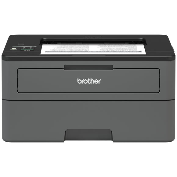 Brother HL-L2370DW Laser Printer - Monochrome - 2400 x 600 dpi Print - Plain Paper Print - Desktop 36 ppm Mono Print - A5, Legal, Letter, A4, A6, Com10 Envelope, DL Envelope, C5 Envelope - 250 sheets Standard Input Capacity