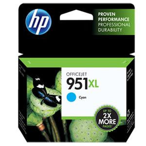 HP 951XL Ink Cartridge Inkjet Blue - 1500 Page - 1 Each