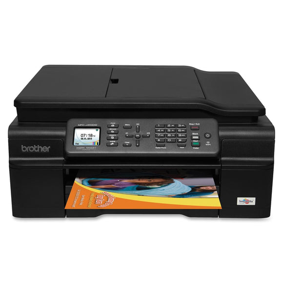 Brother MFC-J450DW Inkjet Multifunction Printer - Color - Plain Paper Print - Desktop