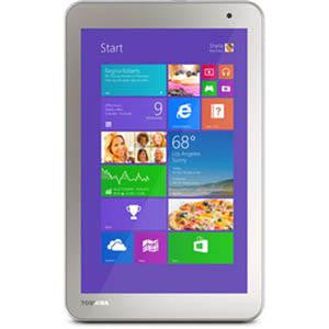 "Toshiba Encore 2 WT8-B-006 32 GB Net-tablet PC - 8"" - In-plane Switching (IPS) Technology - Wireless LAN - Intel Atom Z3735G 1.33 GHz 1 GB RAM - Windows 8.1 - Slate - 1366 x 768 Multi-touch Screen Display - Bluetooth"