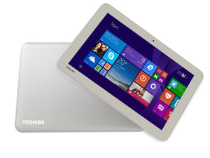 "Toshiba Encore 2 WT10-A-00L 32 GB Net-tablet PC - 10.1"" - In-plane Switching (IPS) Technology - Wireless LAN - Intel Atom Z3735G 1.33 GHz 1 GB RAM - Windows 8.1 - Slate - 1366 x 768 Multi-touch Screen Display - Bluetooth"