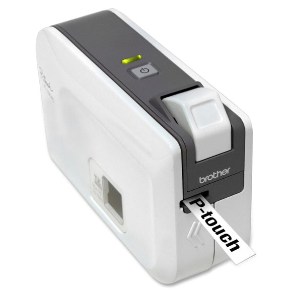 Brother P-touch PT-1230PC Thermal Transfer Printer - Monochrome - Label Print 10 mm/s Mono - 180 dpi - USB