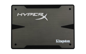 "Kingston HyperX 3K 240 GB 2.5"" Internal Solid State Drive SATA - 555 MBps Maximum Read Transfer Rate - 510 MBps Maximum Write Transfer Rate - Black - 1 Pack"
