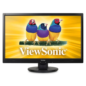 "Viewsonic VA2246m-LED 22"" LED LCD Monitor - 16:9 - 5 ms Adjustable Display Angle - 1920 x 1080 - 250 cd/m² - 1,000:1 - Speakers - DVI - VGA - ENERGY STAR 5.0, RoHS, REACH, TCO Displays 5.0, ErP, China Energy Label (CEL), WEEE"