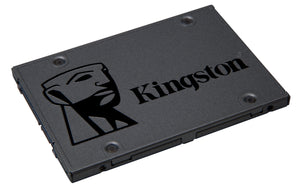 "Kingston A400 480 GB Solid State Drive - SATA (SATA/600) - 2.5"" Drive - Internal"