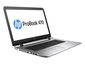 "HP ProBook 470 G3 17.3"" 16:9 Notebook - 1920 x 1080 - Intel Core i7 (6th Gen) i7-6500U Dual-core (2 Core) 2.50 GHz - 16 GB DDR4 SDRAM - 256 GB SSD - Windows 7 Professional 64-bit (English/French) upgradable to Windows 10 Pro - Gravity Black"
