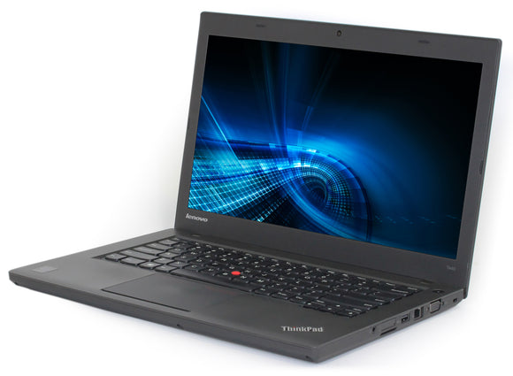 LENOVO T440 Reconditionné: Processeur Intel Core i5-4300U 1.9GHz, 8GB , 120 GB SSD,  14.1