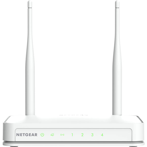 Netgear WNR2020 IEEE 802.11n Ethernet Wireless Router 2.40 GHz ISM Band - 2 x Antenna(2 x External) - 300 Mbit/s Wireless Speed - 4 x Network Port - 1 x Broadband Port - Fast Ethernet - Desktop