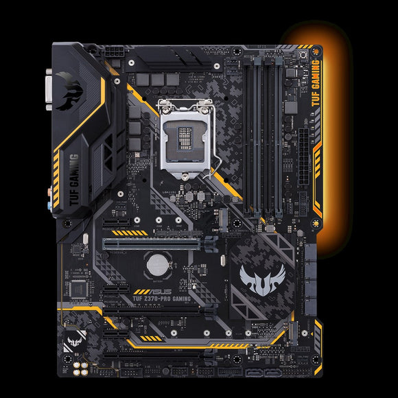 TUF Z370-PRO GAMING Desktop Motherboard - Intel Chipset - Socket H4 LGA-1151