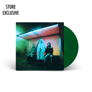 "Wolf Alice new album ""Blue Weekend"" limited edition green vinyl with lyric insert."