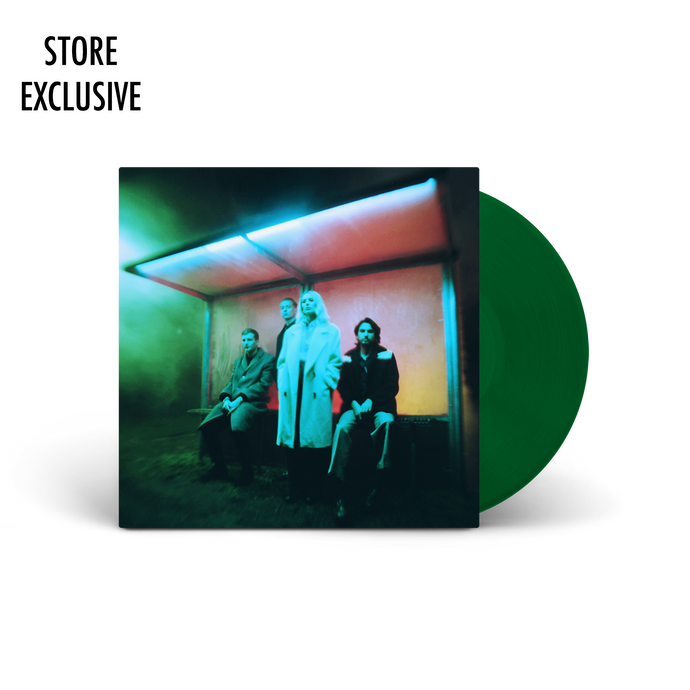 TRANSPARENT GREEN VINYL