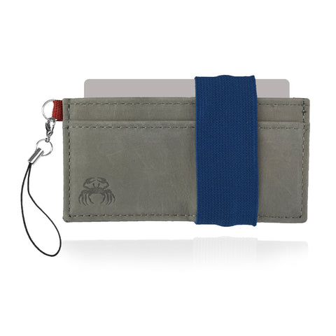 Leather Crabby Wallet - Jericho