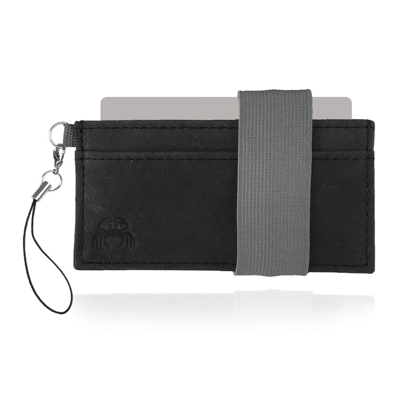 Leather Crabby Wallet - Mammoth