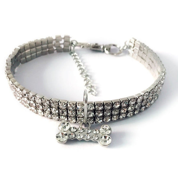 Collar diamantes