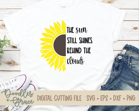 The Sun Still Shines SVG-SVG File-Doodles and Grace
