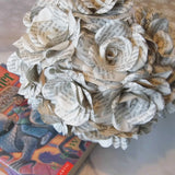 Harry Potter Book Paper Roses