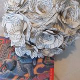 12 x Harry Potter Book Paper Rose Bouquet