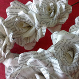 50 Shades of Grey Book Paper Roses