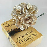 Games of Throne Paper Rose Bouquet
